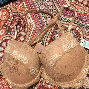 Pink Lace Rue21 Pushup Bra